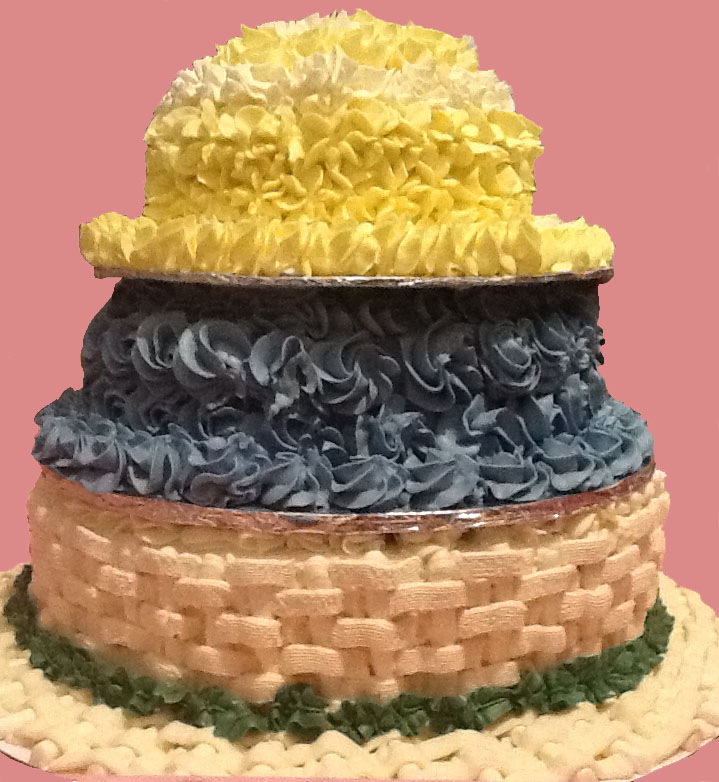 Crazy Hat Cake